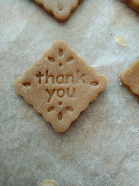 thank you cookie